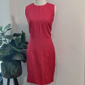 LOFT Classic  Red Sheath Dress
